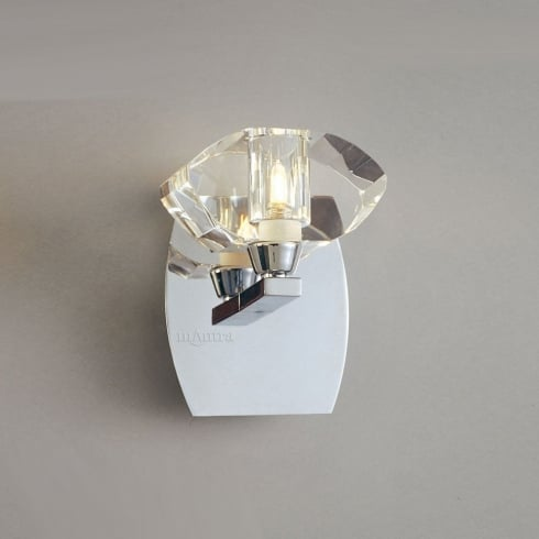 Mantra Spain Alfa M0423/s Polished Chrome Switched Single Lamp Wall Light