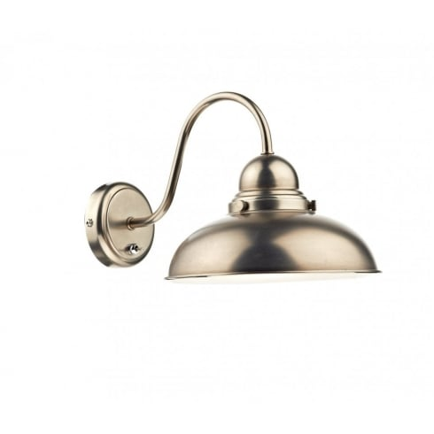 Dar Lighting Dynamo DYN0761 Antique Chrome Wall Light