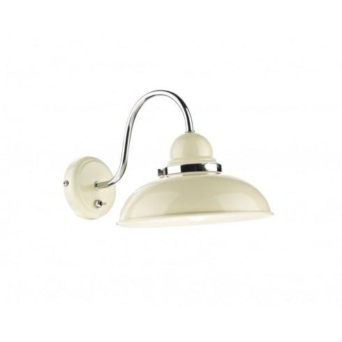 Dar Lighting Dynamo DYN0733 Cream Wall Light