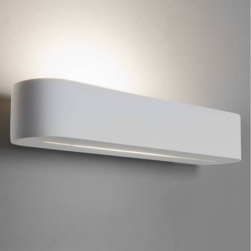 Astro Lighting Veneto 300 0609 White Plaster Paintable Surface Wall Light 300mm