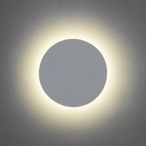 Astro Lighting Eclipse 250 7249 Round Modern Surface Wall Light White Paintable