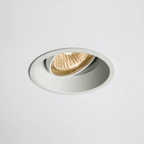 Astro Lighting Minima 230v 5665 White Adjustable GU10 Recessed Downlight