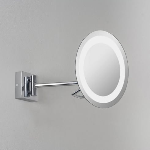 Astro Lighting Gena Plus 0526 Polished Chrome Illuminated Vanity Mirror
