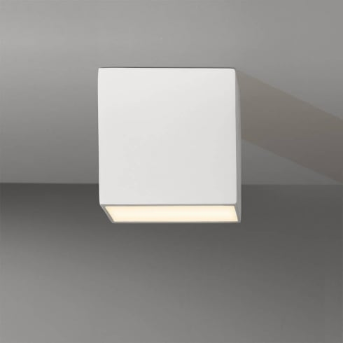 Astro Lighting Osca Square LED 7049 Square White Surface Ceiling Downlight