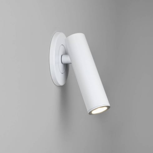 Astro Lighting Parma 625 7040 White Plaster Low Energy Wall Light