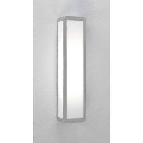 Astro Lighting Mashiko 360 7043 Bathroom Wall Light Silver Opal Glass IP44