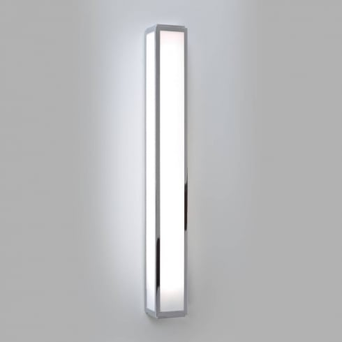 Astro Lighting Mashiko 600 0878 Surface Bathroom Wall Light Chrome with Opal Glass IP44