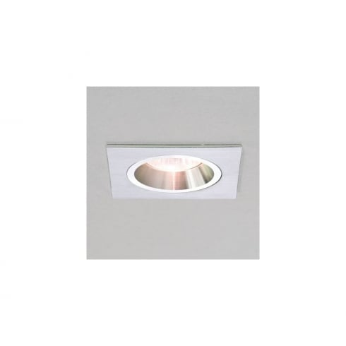 Astro Lighting Taro 5636 Brushed Aluminium Square Fixed GU10 Recessed Downlight 230V