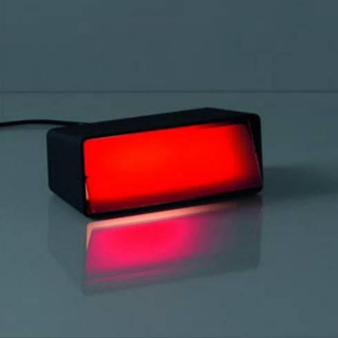 Karboxx Light Boxx 06BLRD01 Red Table Lamp