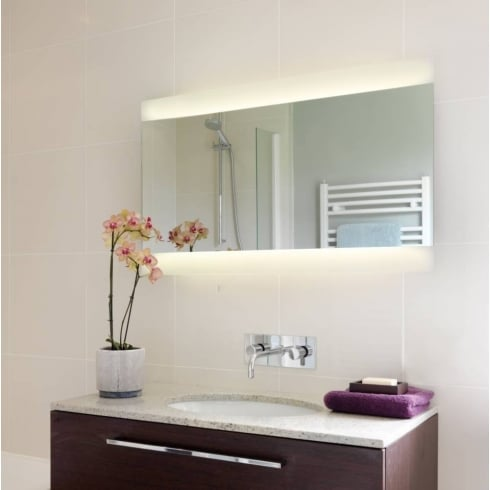 Astro Lighting Fuji 950 0662 Large Horizontal Illuminated Panelled Bathroom Mirror IP44