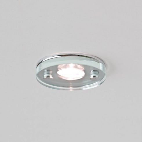 Astro Lighting Ice LED 5579 Round Glass Chrome Integrated LED Downlight Low Voltage IP65