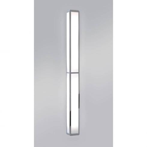 Astro Lighting Mashiko 900 0911 Surface Bathroom Wall Light Large Chrome with Opal Glass IP44