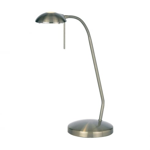 Endon Lighting 656-TL-AN Brass Table & Desk Lamp