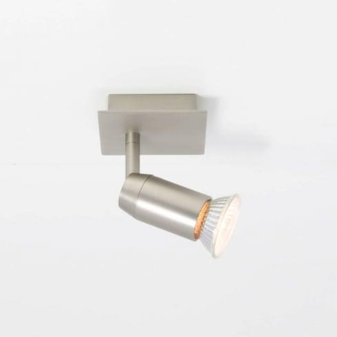 Astro Lighting Magna 6128 Matt Nickel Adjustable Single Wall Spot Light 50w GU10