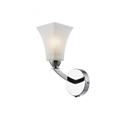 Dar Lighting Arlington ARL0750 Polished Chrome Wall Light