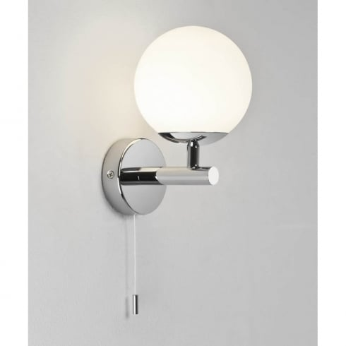 Astro Lighting California 0304 Switched Polished Chrome Finish Surface Bathroom Wall Light
