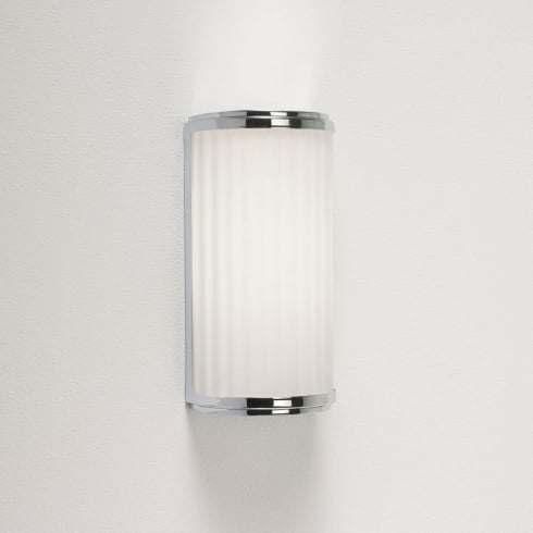 Astro Lighting Monza Classic 250 0952 Unswitched Polished Chrome Finish Bathroom Surface Wall Light