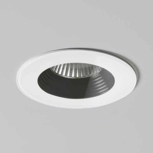 Astro Lighting Vetro Round 5667 White Finish Recessed Bathroom Downlight