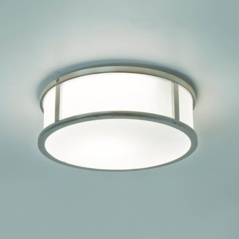 Astro Lighting Mashiko Round 230 7179 Unswitched Polished Chrome Finish Flush Ceiling Light