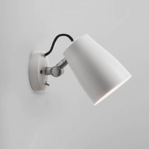 Astro Lighting Atelier Wall 7501 Switched White Finish Surface Wall Light