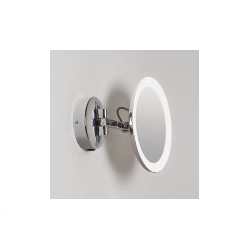 Astro Lighting Mascali LED 7627 Unswitched Polished Chrome Finish Magnifying Surface Wall Mirror
