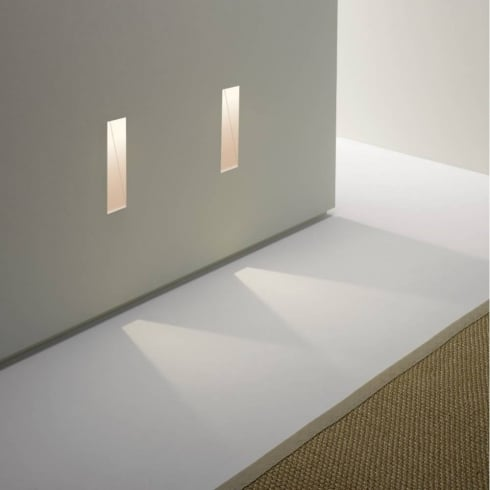 Astro Lighting Borgo 35 0976 Tall Trimless LED Recessed Plastered In Wall Light IP20