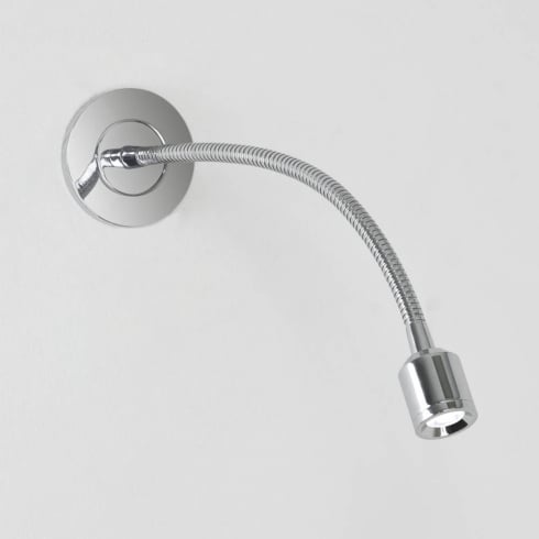 Astro Lighting Fosso Recess 0629 Recessed Adjustable LED Wall Spot Light in Chrome IP20