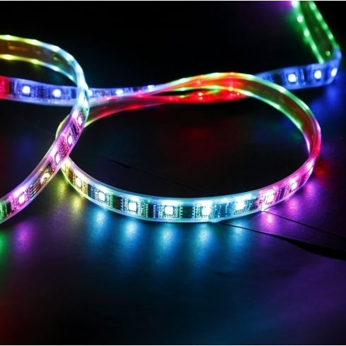 Atmospheric zone med diy rgb kit rgb colour changing linear led strip