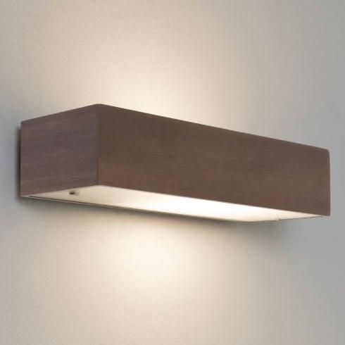Astro Lighting Manerbio 0400 Walnut Wall Light IP20