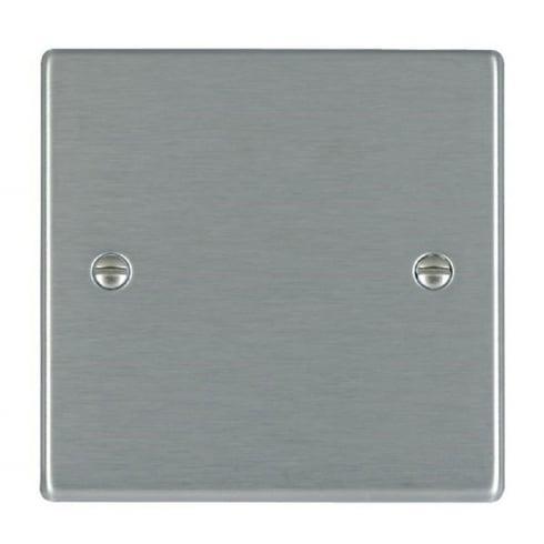 Hamilton Litestat Hartland 74BPS Satin Steel Single Blank Plate