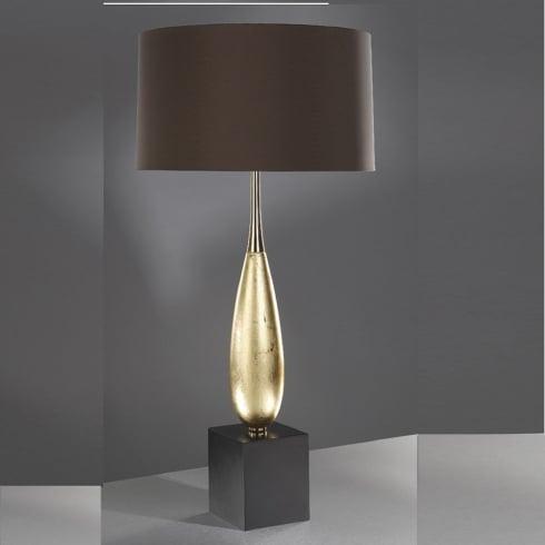 Elstead Lighting Solomon Gold Leaf Table Lamp