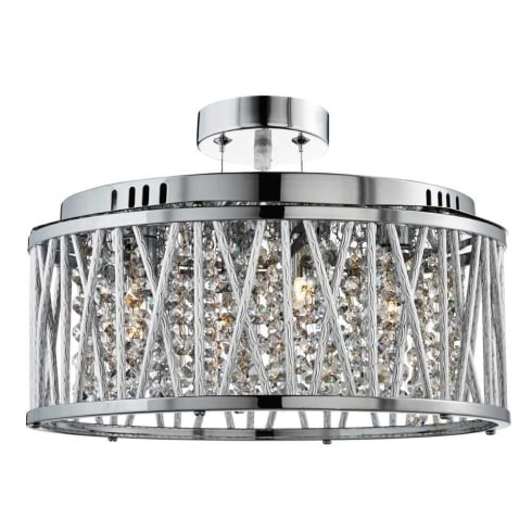 Searchlight electric elise 8335 5cc pendant ceiling light