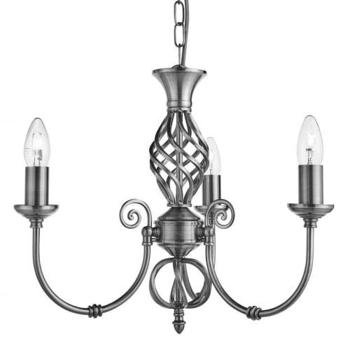 Searchlight electric zanzibar 4489 3 pendant ceiling light