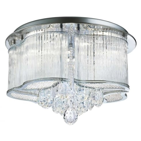 Searchlight Electric Mela 7985-48CC Flush Ceiling Light