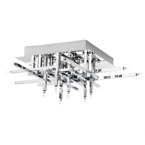 Searchlight Electric Lattice 3716-16CC Flushed Ceiling Light
