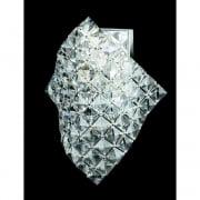 DIAMOND CE01081/WB/CH Polished Chrome Wall Light
