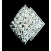DIAMOND CE01082/WB/CH Polished Chrome Wall Light