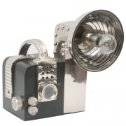 Lichfield 1370197 Black And Polished Chrome Camera Table Lamp