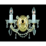 MARIE THERESA CP00150/02/WB/G Gold Wall Light