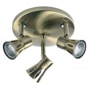 813-AN Brass Bar Spotlight