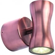 WL370A WW Copper LED Up/Down Wall Light