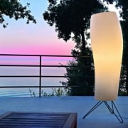 Warm 08WAOT01 White Floor Lamp Outdoor