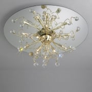 Polaris 1113.112.3.SPT Gold Ceiling Light