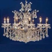 fantastic lighting chandeliers. callas 5005/12+6 chrome armed ball with crystal chandelier. fantastic lighting chandeliers i