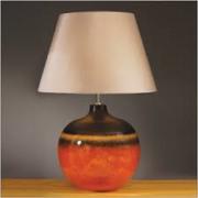 Colorado Brown & Orange Table Lamp Large