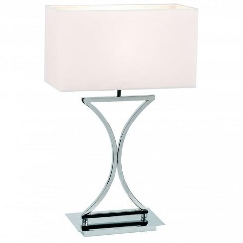 Endon 96930-TLCH Chrome Table & Desk Lamp