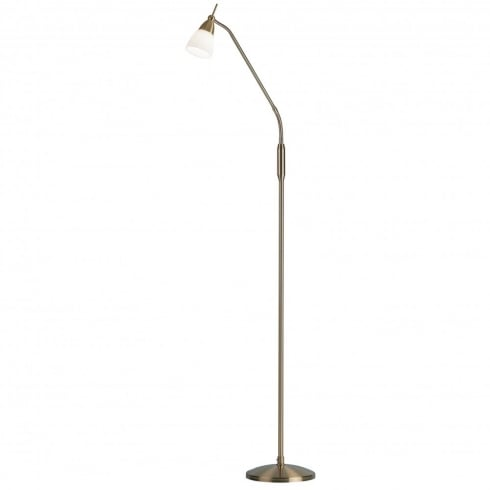 Endon Lighting 652-FLAN Metal Floor Lamp