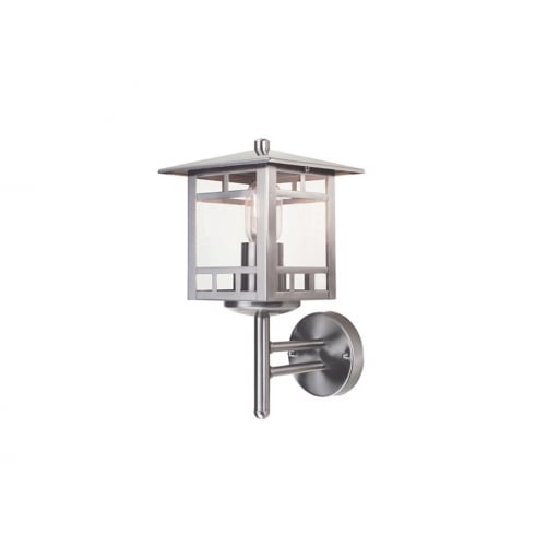 Elstead Lighting Kolne Stainless Steel Outdoor Wall Lantern