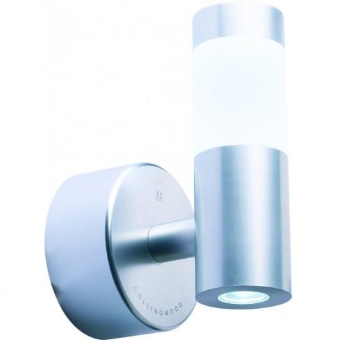 Collingwood WL060 WH Aluminium LED Halo/Flood Wall Light