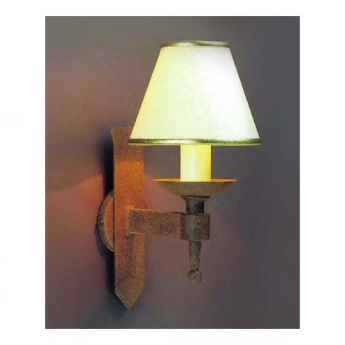 Impex Russell SAXON SMRR01071/A Aged Wall Light